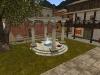 Brunnen, Bibliothek und Bankhaus