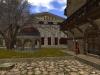 Brunnen, rechts das Haus der Kriegerkaste und der Tempel für die Priesterkönige