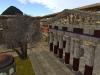 Ansicht mit Tempel