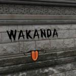 Stadtmauer und Wakandas Beitrag.