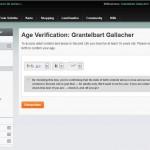 Die neue Altersverifizierung
