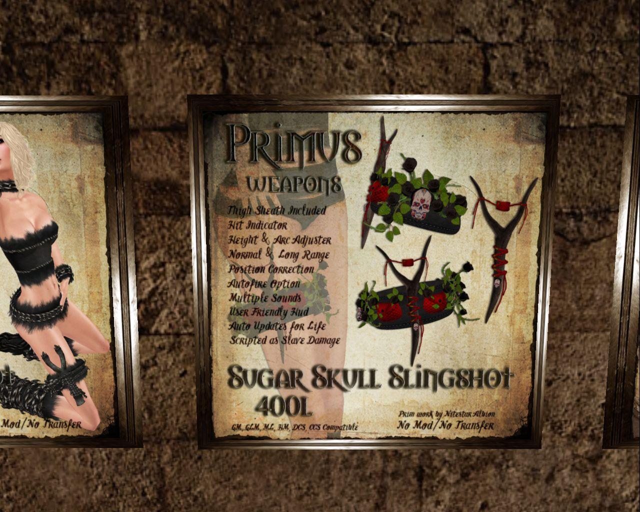 Sugar Skull Slingshot